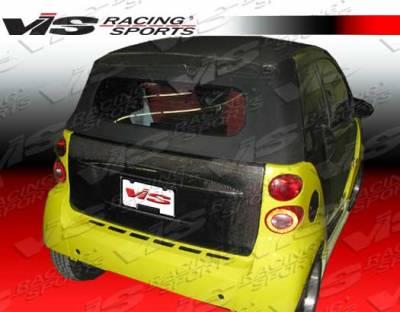 ForTwo - Trunk Hatch - VIS Racing - Smart ForTwo VIS Racing OEM Carbon Fiber Hatch - 08SMFR22DOE-020C