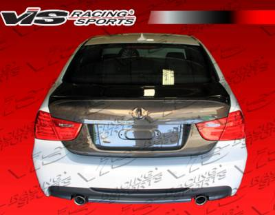 3 Series 4Dr - Trunk Hatch - VIS Racing - BMW 3 Series 4DR VIS Racing CSL Carbon Fiber Trunk - 09BME904DCSL-020C