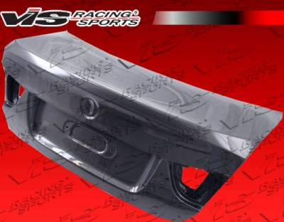 3 Series 4Dr - Trunk Hatch - VIS Racing - BMW 3 Series 4DR VIS Racing OEM Carbon Fiber Trunk - 09BME904DOE-020C