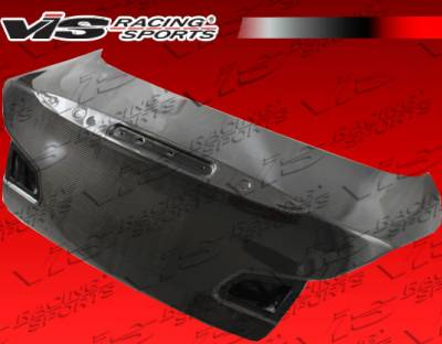 G37 - Trunk Hatch - VIS Racing - Infiniti G37 VIS Racing OEM Carbon Fiber Trunk - 09ING374DOE-020C