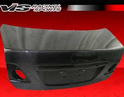 Corolla - Trunk Hatch - VIS Racing - Toyota Corolla VIS Racing OEM Carbon Fiber Trunk - 09TYCOR4DOE-020C