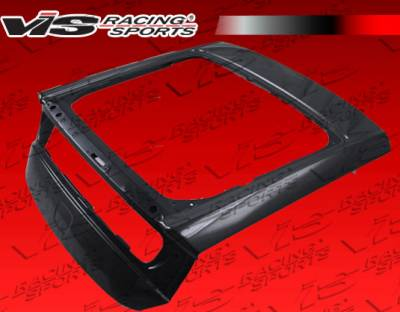 CR-Z - Trunk Hatch - VIS Racing - Honda CR-Z VIS Racing OEM Carbon Fiber Hatch - 11HDCRZHBOE-020C