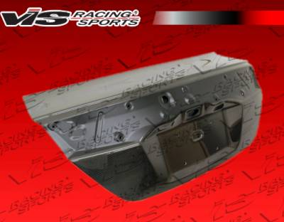 Civic 2Dr - Trunk Hatch - VIS Racing - Honda Civic 2DR VIS Racing OEM Carbon Fiber Trunk - 12HDCVC2DOE-020C