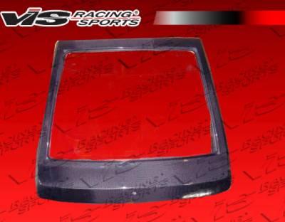 Corolla - Trunk Hatch - VIS Racing - Toyota Corolla VIS Racing OEM Carbon Fiber Hatch - 84TYCORHBOE-020C