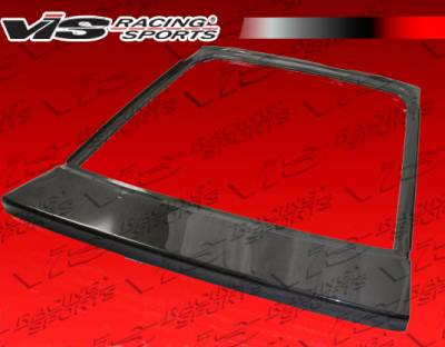 Supra - Trunk Hatch - VIS Racing - Toyota Supra VIS Racing OEM Carbon Fiber Hatch - 86TYSUP2DOE-020C