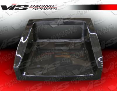 CRX - Trunk Hatch - VIS Racing - Honda CRX VIS Racing Tunnel Carbon Fiber Hatch - 88HDCRXHBTUN-020C