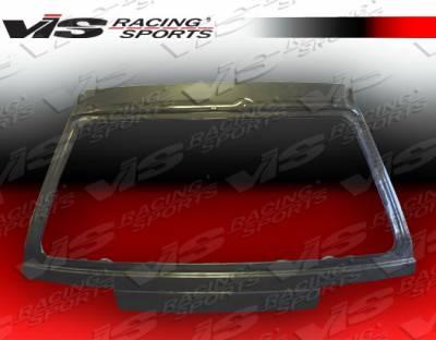 Civic HB - Trunk Hatch - VIS Racing - Honda Civic HB VIS Racing OEM Carbon Fiber Hatch - 88HDCVCHBOE-020C