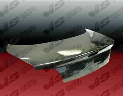 240SX - Trunk Hatch - VIS Racing - Nissan 240SX VIS Racing OEM Carbon Fiber Trunk - 89NS2402DOE-020C