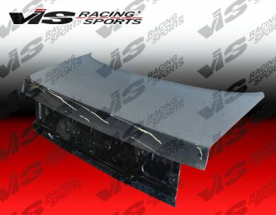 Accord 4Dr - Trunk Hatch - VIS Racing - Honda Accord 2DR & 4DR VIS Racing OEM Carbon Fiber Trunk - 92HDACC2DOE-020C