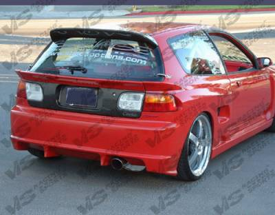 Civic HB - Trunk Hatch - VIS Racing - Honda Civic HB VIS Racing OEM Carbon Fiber Hatch - 92HDCVCHBOE-020C