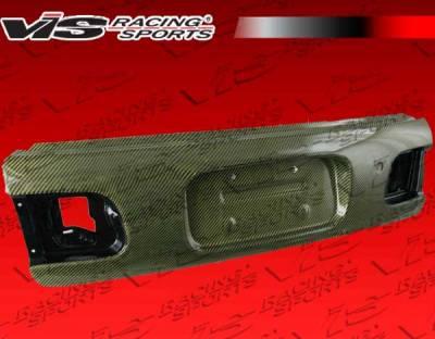 Civic HB - Trunk Hatch - VIS Racing - Honda Civic HB VIS Racing OEM Style Carbon Kevlar Trunk - 92HDCVCHBOE-020K