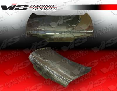 SC - Trunk Hatch - VIS Racing - Lexus SC VIS Racing OEM Style Carbon Fiber Trunk - 92LXSC32DOE-020C