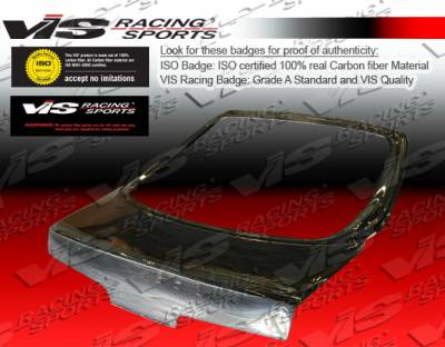 Integra 2Dr - Trunk Hatch - VIS Racing - Acura Integra 2DR VIS Racing CSL Carbon Fiber Hatch - 94ACINT2DCSL-020C