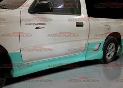 Tacoma - Side Skirts - AIT Racing - Toyota Tacoma AIT Racing Drift Style Side Skirts - TTA95HIDFSSS