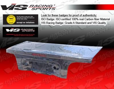Mustang - Trunk Hatch - VIS Racing - Ford Mustang VIS Racing OEM Carbon Fiber Trunk - 94FDMUS2DOE-020C