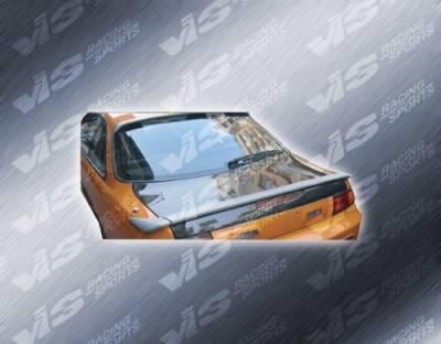 240SX - Trunk Hatch - VIS Racing - Nissan 240SX VIS Racing OEM Carbon Fiber Trunk - 95NS2402DOE-020C