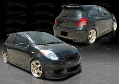 Yaris - Body Kits - AIT Racing - Toyota Yaris AIT Racing Diablo Style B-Magic Complete Body Kit - TY07BMDIBCK3