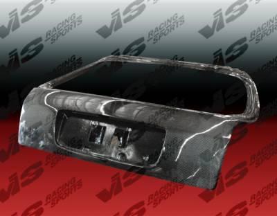Civic HB - Trunk Hatch - VIS Racing - Honda Civic HB VIS Racing OEM Carbon Fiber Hatch - 96HDCVCHBOE-020C