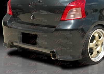 Yaris - Rear Bumper - AIT Racing - Toyota Yaris AIT Racing Diablo Style Rear Bumper - TY07BMDIBRB2