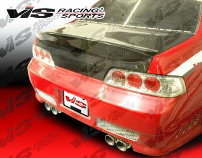Prelude - Trunk Hatch - VIS Racing - Honda Prelude VIS Racing CSL Carbon Fiber Trunk - 97HDPRE2DCSL-020C