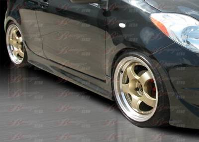 Yaris - Side Skirts - AIT Racing - Toyota Yaris AIT Racing Diablo Style Side Skirts - TY07BMDIBSS2