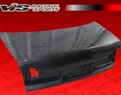 Accord 4Dr - Trunk Hatch - VIS Racing - Honda Accord 4DR VIS Racing OEM Carbon Fiber Trunk - 98HDACC4DOE-020C