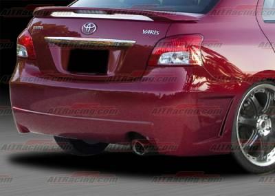 Yaris - Rear Bumper - AIT Racing - Toyota Yaris AIT Racing Zen Style Rear Bumper - TY07HIZENRB4