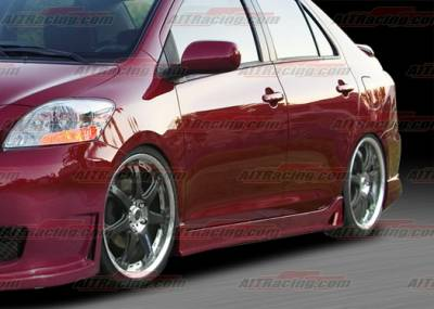 Yaris - Side Skirts - AIT Racing - Toyota Yaris AIT Racing Zen Style Side Skirts - TY07HIZENSS4