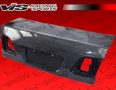 Civic 4Dr - Trunk Hatch - VIS Racing - Honda Civic 4DR VIS Racing OEM Style Carbon Fiber Trunk - 99HDCVC4DOE-020C