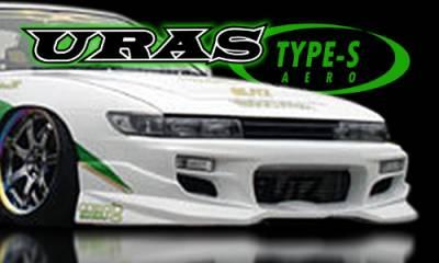 Silvia - Front Bumper - AIT Racing - Nissan Silvia AIT Racing Uras Type-S Style Front Bumper - U02011-5