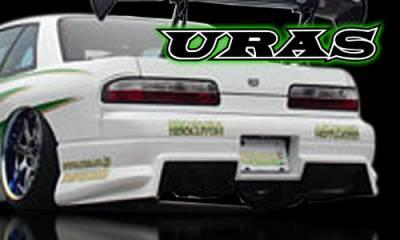 240SX - Rear Bumper - AIT Racing - Nissan 240SX AIT Racing Uras Type-S Style Rear Bumper - U02016