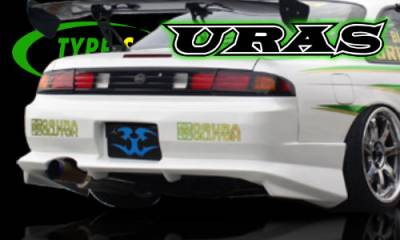 240SX - Rear Bumper - AIT Racing - Nissan 240SX AIT Racing Uras Type-S Style Rear Bumper - U02034-3