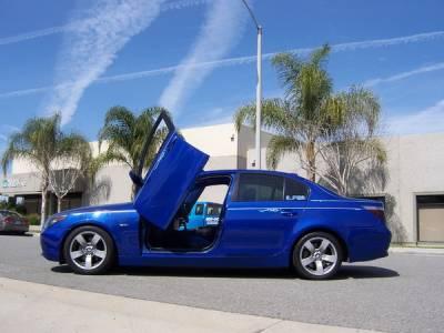 Body Kits - Vertical Lambo Door Kits - Vertical Doors Inc - BMW 5 Series Vertical Doors Inc Vertical Lambo Door Kit - VDCB50310