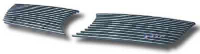 Grilles - Custom Fit Grilles - APS - Volkswagen Touareg APS Billet Grille - Upper - Aluminum - V65506A