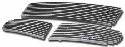 Grilles - Custom Fit Grilles - APS - Volvo V50 APS Billet Grille - Bumper - Aluminum - V65508A