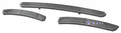 Grilles - Custom Fit Grilles - APS - Volvo XC90 APS Billet Grille - Bumper - Aluminum - V65510A
