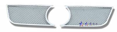 Grilles - Custom Fit Grilles - APS - Volkswagen Passat APS Wire Mesh Grille - Upper - Stainless Steel - V75533T