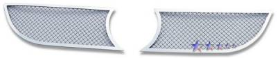 Grilles - Custom Fit Grilles - APS - Volkswagen Eos APS Wire Mesh Grille - Upper - Stainless Steel - V75534T