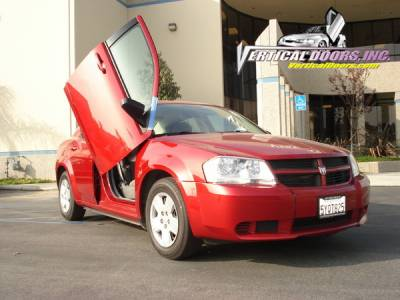 Avenger - Vertical Door Kit - Vertical Doors Inc - Dodge Avenger Vertical Doors Inc Vertical Lambo Door Kit - VDCDAVE07