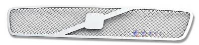 Grilles - Custom Fit Grilles - APS - Volvo V50 APS Wire Mesh Grille - Upper - Stainless Steel - V75546T