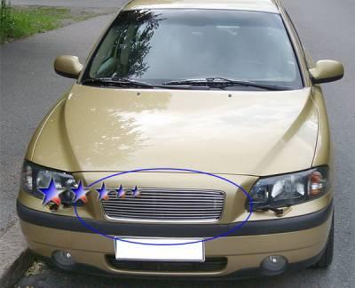 Grilles - Custom Fit Grilles - APS - Volvo S60 APS Billet Grille - Upper - Aluminum - V85505A