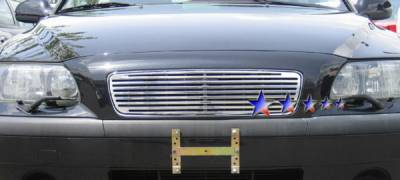Grilles - Custom Fit Grilles - APS - Volvo S60 APS CNC Grille - Upper - Aluminum - V95505A