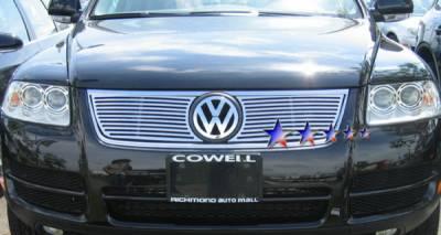 Grilles - Custom Fit Grilles - APS - Volkswagen Touareg APS CNC Grille - Upper - Aluminum - V95506A