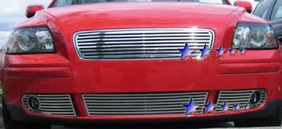 Grilles - Custom Fit Grilles - APS - Volvo S40 APS CNC Grille - Upper - Aluminum - V95507A