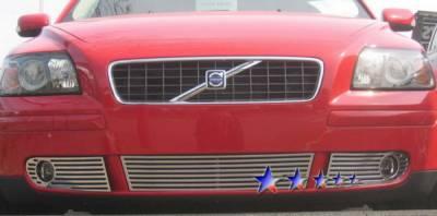 Grilles - Custom Fit Grilles - APS - Volvo V50 APS CNC Grille - Bumper - Aluminum - V95508A