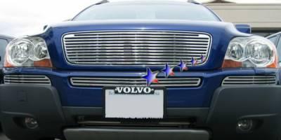 Grilles - Custom Fit Grilles - APS - Volvo XC90 APS CNC Grille - Upper - Aluminum - V95509A