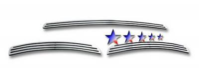 Grilles - Custom Fit Grilles - APS - Volvo XC90 APS CNC Grille - Bumper - Aluminum - V95510A