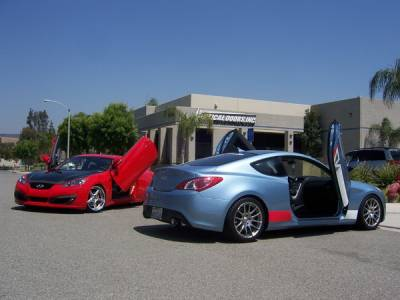 Genesis - Vertical Door Kit - Vertical Doors Inc - Hyundai Genesis Vertical Doors Inc Vertical Lambo Door Kit - VDCHG0910