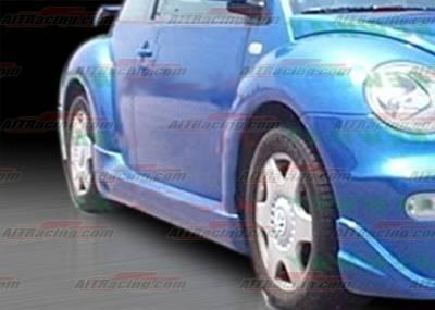 Beetle - Side Skirts - AIT Racing - Volkswagen Beetle AIT Racing BCN-1 Style Side Skirts - VWB98HIBCN1SS