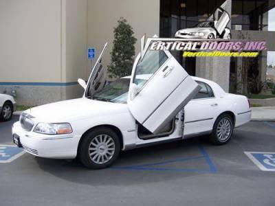 Town Car - Vertical Door Kit - Vertical Doors Inc - Lincoln Town Car Vertical Doors Inc Vertical Lambo Door Kit - VDCLTC9810